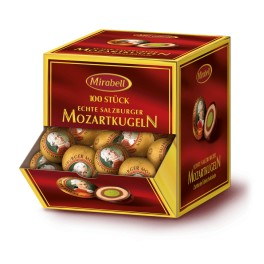 Binnenkort Leverbaar!!! Mozart dispenser - Echte Salzburger Mozartkugeln