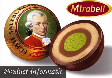 Product informatie Mirabell Mozartkugeln